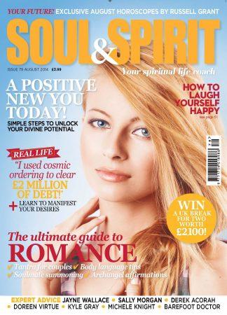 Soul & Spirit August 2014 cover